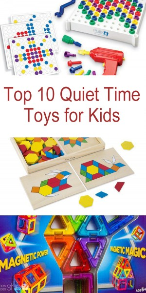 Top 10 Quiet Time Toys for Kids