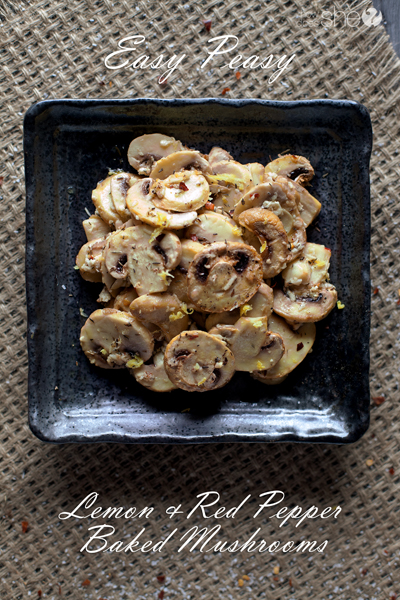 easy peasy lemon and red pepper baked mushrooms (6)