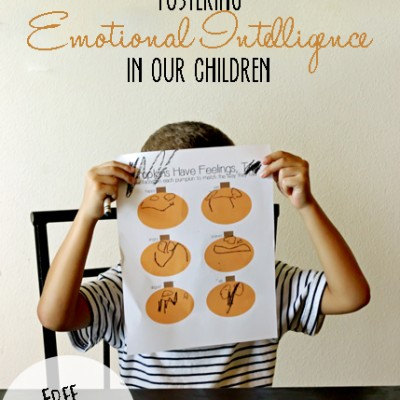 Fostering Emotional Intelligence in our Children