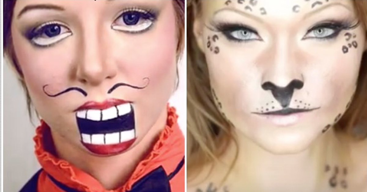 15 Totally Cool Halloween Makeup Ideas How Does She