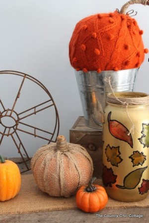 make your own burlap pumpkin-007