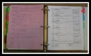 working binder