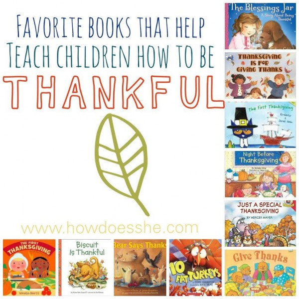 picture books about being thankful