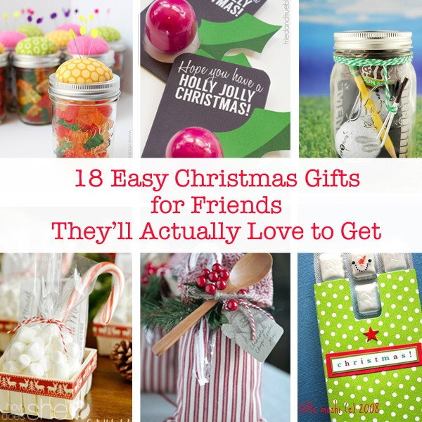18 Easy Christmas Gifts For Friends They Ll Actually Love To Get