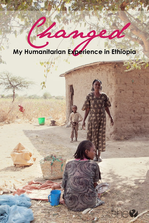 my humanitarian experience in Ethiopia