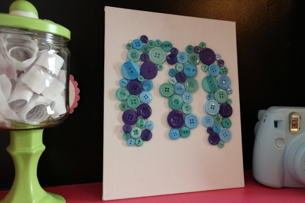 Button Monogram How-To Video