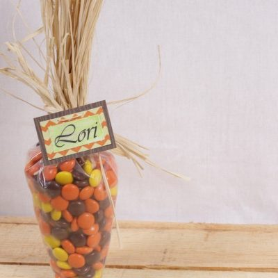 Thanksgiving Name Card: How to Make it Quick and Easy!