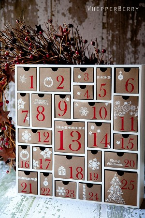 15 easy diy advent calendars to count down to christmas how does she advent 004 solutioingenieria Choice Image
