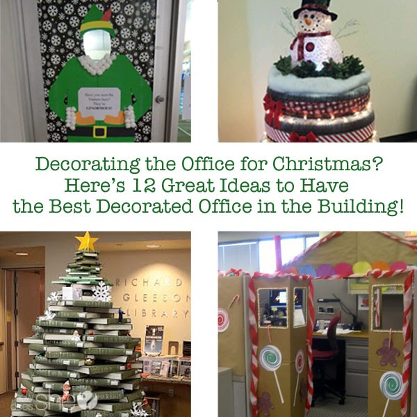 Decorating The Office For Christmas? Hereu0027s 12 Great Ideas To Have The Best Decorated  Office