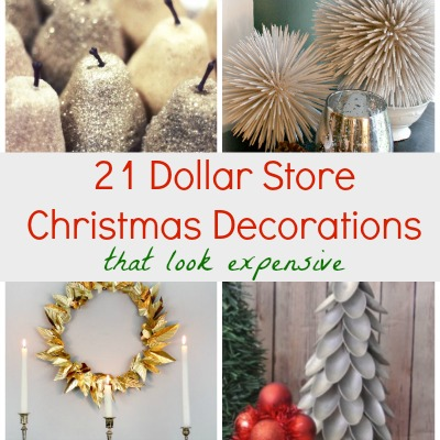 Dollar Store Decorations Featured