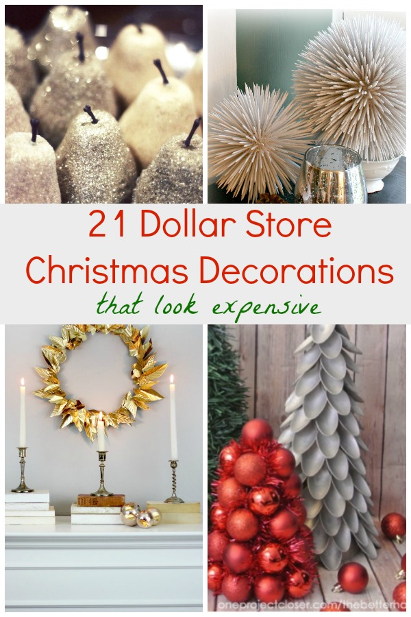 21 dollar store christmas decorations that look expensive for The decor store