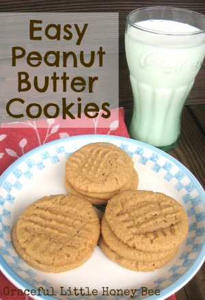 Easy-Peanut-Butter-Cookies