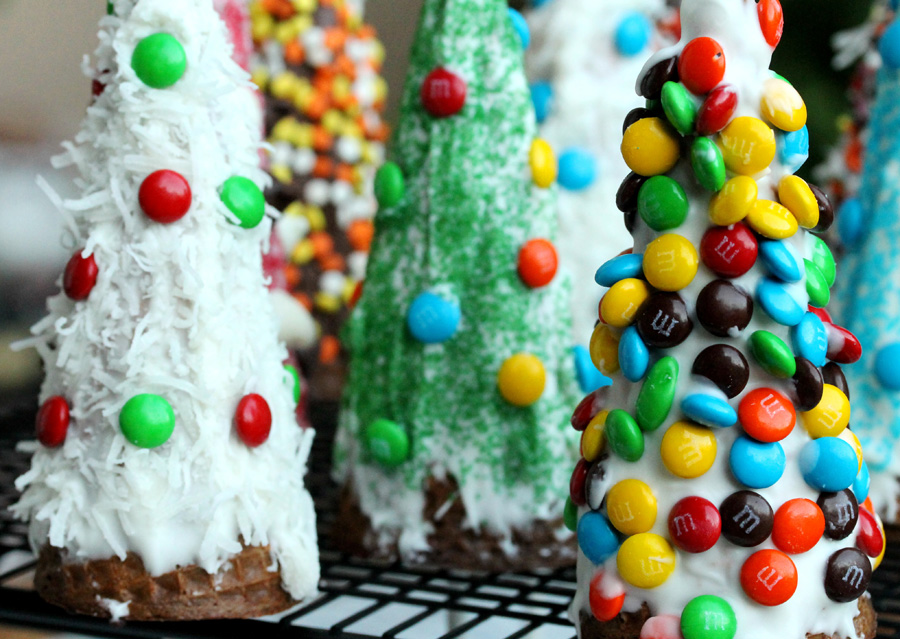 Edible Christmas crafts 4