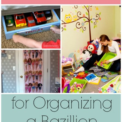 18 Cheap Hacks for Organizing a Bazillion Toys | Ideas for Toy Storage