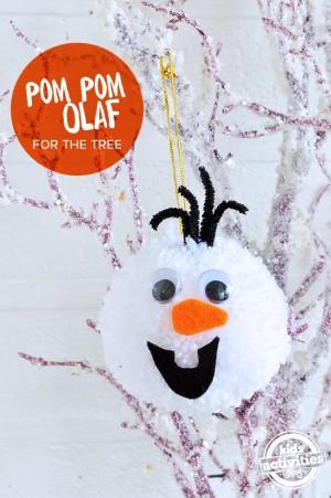 POm-Pom-Olaf-Pin