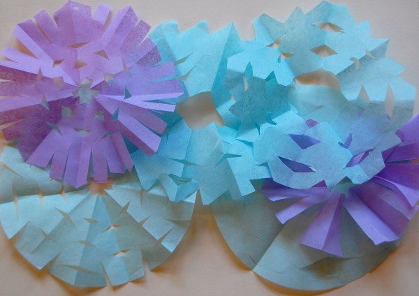 Snowflake ideas for a winter wonderland