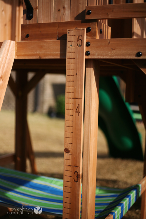 oceanview swing set growth chart backyard discovery