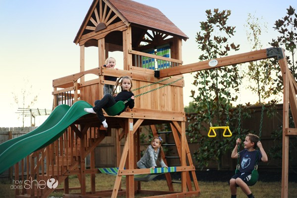 backyard discovery oceanview swing set