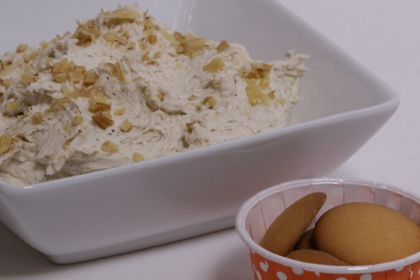Quick Delicious Banana Bread Dip