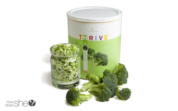 Thrive Freeze Dried Food Stockpile