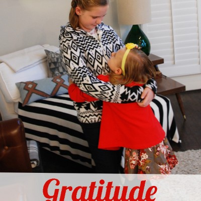 Gratitude Boot Camp- Just what your kids need before the holidays