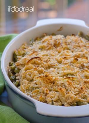 light-parmesan-green-bean-casserole