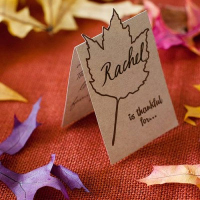 12 Easy Last Minute Thanksgiving Place Cards That Will Wow Your Guests