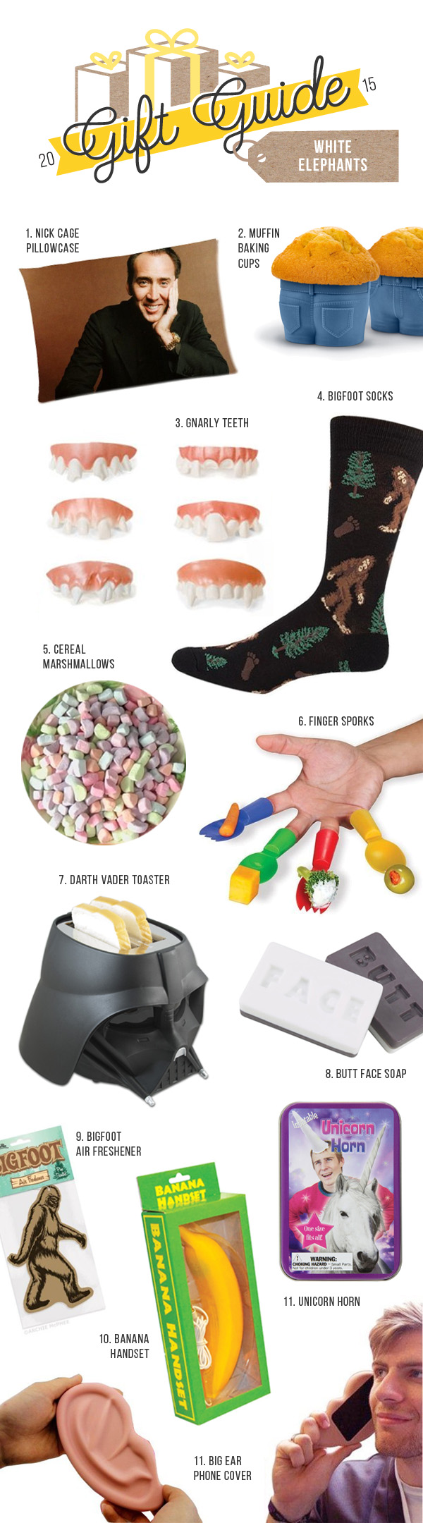 Funny White Elephant Gifts To Shock And Delight How Does She