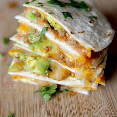 Cheesy Beef Quesadillas with Avocado – Elevate Your Ground Beef!
