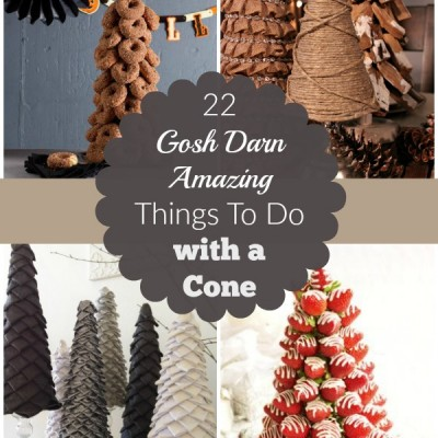 22 Gosh Darn Amazing Things To Do with a Cone
