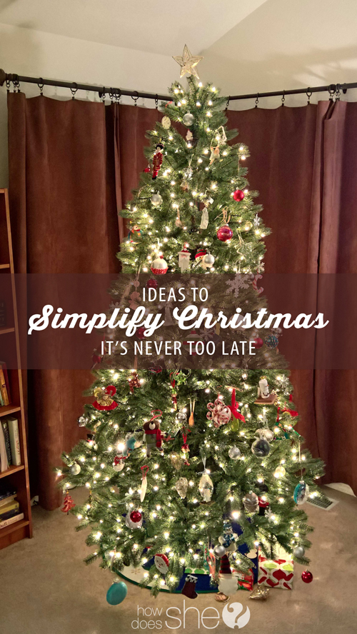 Ideas to Simplify Christmas