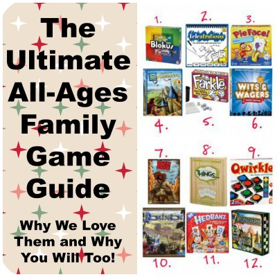 The Ultimate List of Family Games – Just in Time for the Holidays!