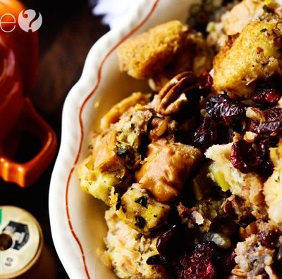 Turn Savory Stuffing from Thanksgiving into Bread Pudding for Brunch