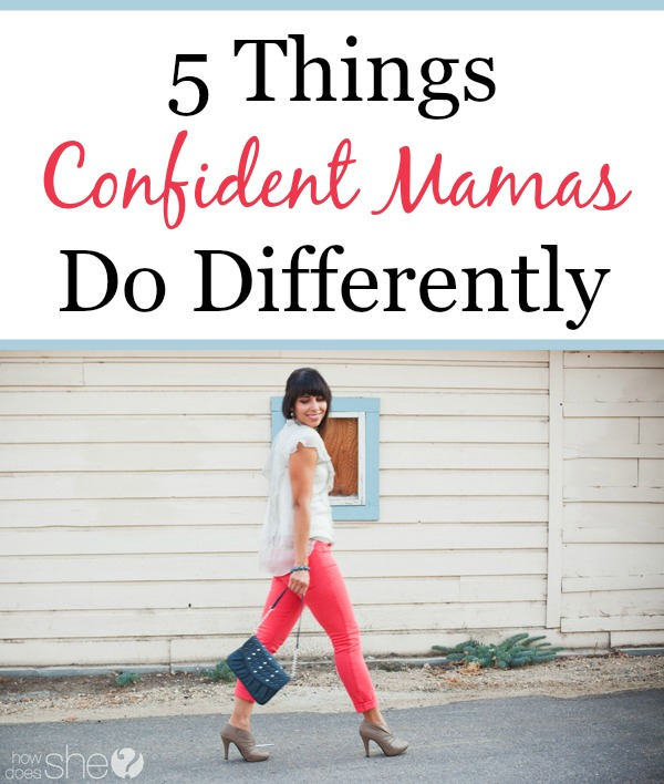 Confident mamas