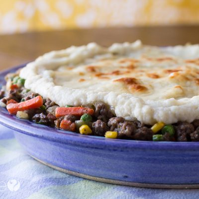 Easy Low-Carb Shepherd's Pie