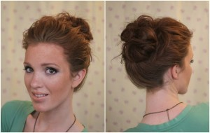 Freckled_fox_hair_tutorial_basics_week_series_ten_second_top_knot_5