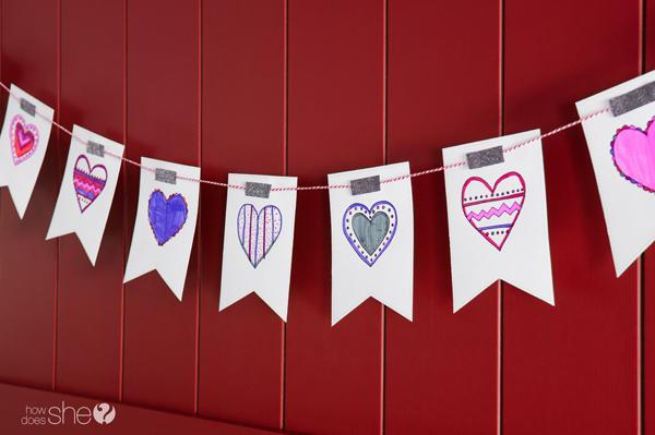 Free printable valentine's banner (7)