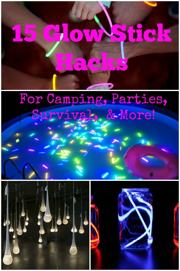 15 glow stick hacks for camping parties survival more how glow stick hacks solutioingenieria Choice Image