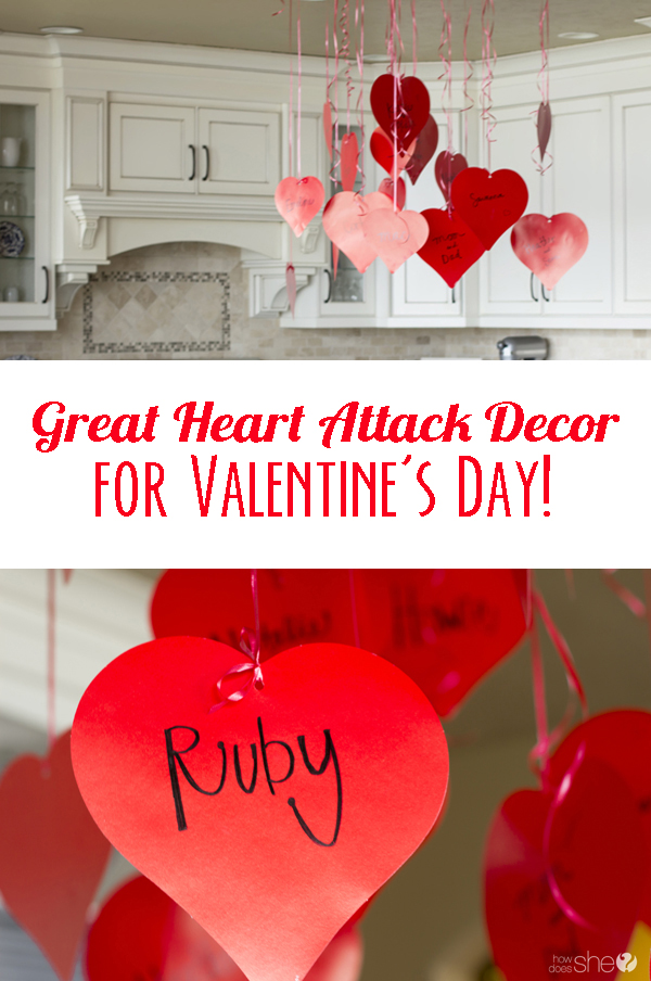 Great Heart Attack Decor For Valentineu0027s Day!