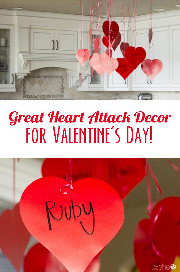 Great Heart Attack Decor for Valentine's Day! (1)