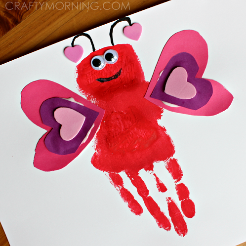 15 easy valentine 39 s crafts for kids plus a bonus video for Kids valentines day craft