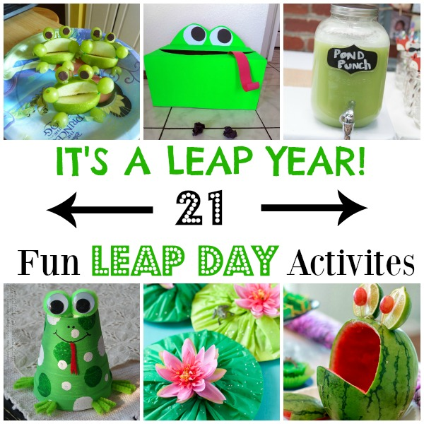 Leap Day Activites