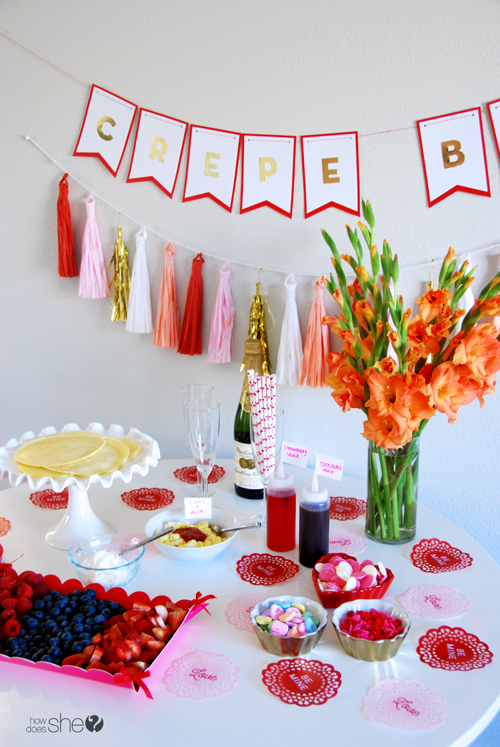 Quick and Easy Valentine Crepe Bar (15)