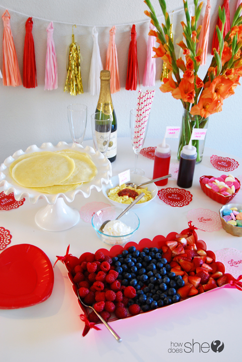 Quick and Easy Valentine Crepe Bar (18)