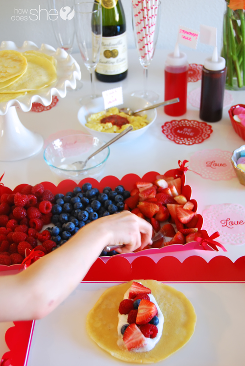 Quick and Easy Valentine Crepe Bar (24)
