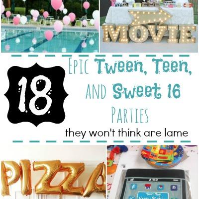 Teen parties featured