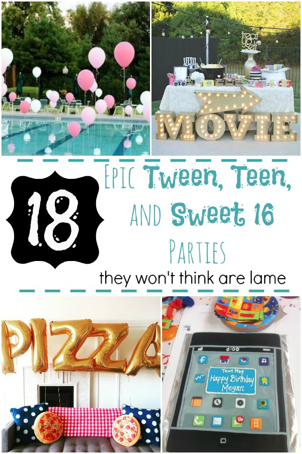 18 Epic Tween Teen And Sweet 16 Parties They Won 39 T Think Are Lame How