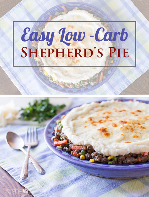 easy low carb shepherd's pie