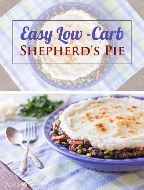 easy low carb shepherd's pie