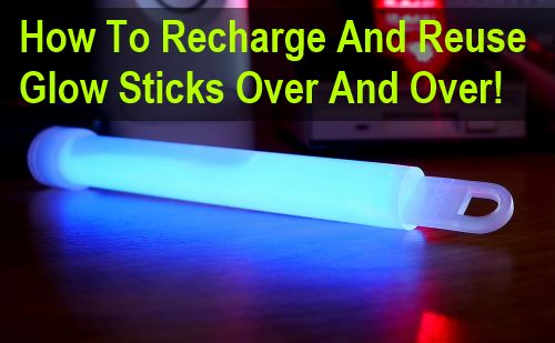 glow stick hacks 2  sc 1 st  How Does She & 15 Glow Stick Hacks for Camping Parties Survival u0026 More! | How ... azcodes.com